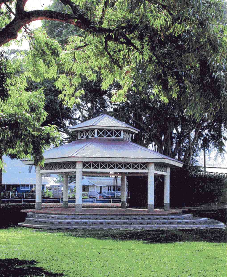 Waialua Bandstand at the Park