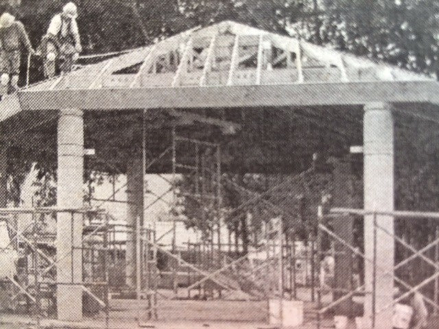 Bandstand Under Construction